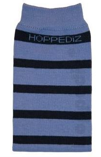 Kangura portabebés Calentadores Hoppediz Algodón Light-blue-dark blue striped