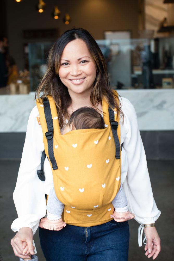 Wander Mochila Portabeb/és Free to Grow de Tula desde nacimiento a 20 kg