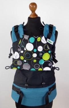 varios estilos en venta venta caliente más nuevo Mochila Ergonómica Buzzidil Babysize Hoopla Dots